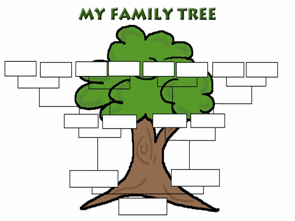 Family Tree Template Family Tree Templates - Clip Art Library