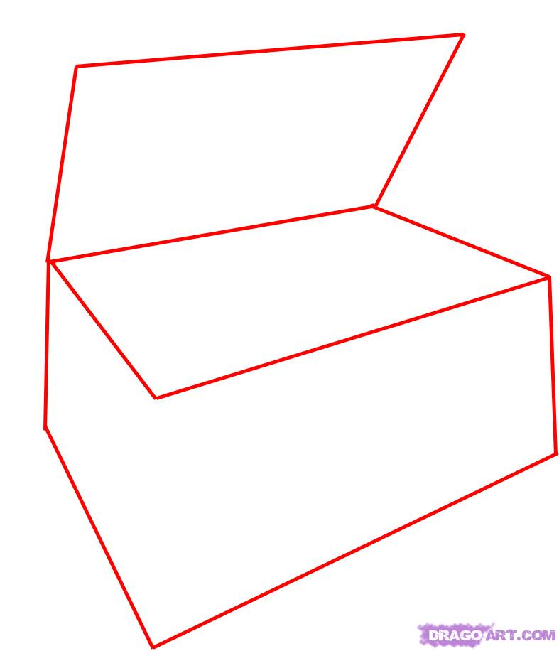 Free Treasure Chest Outline Download Free Clip Art Free
