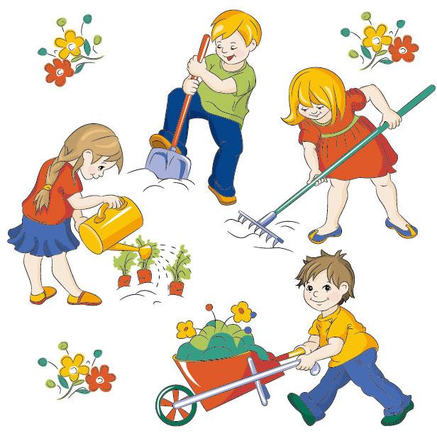 Free Children Cartoon, Download Free Clip Art, Free Clip Art on - cartoon children play