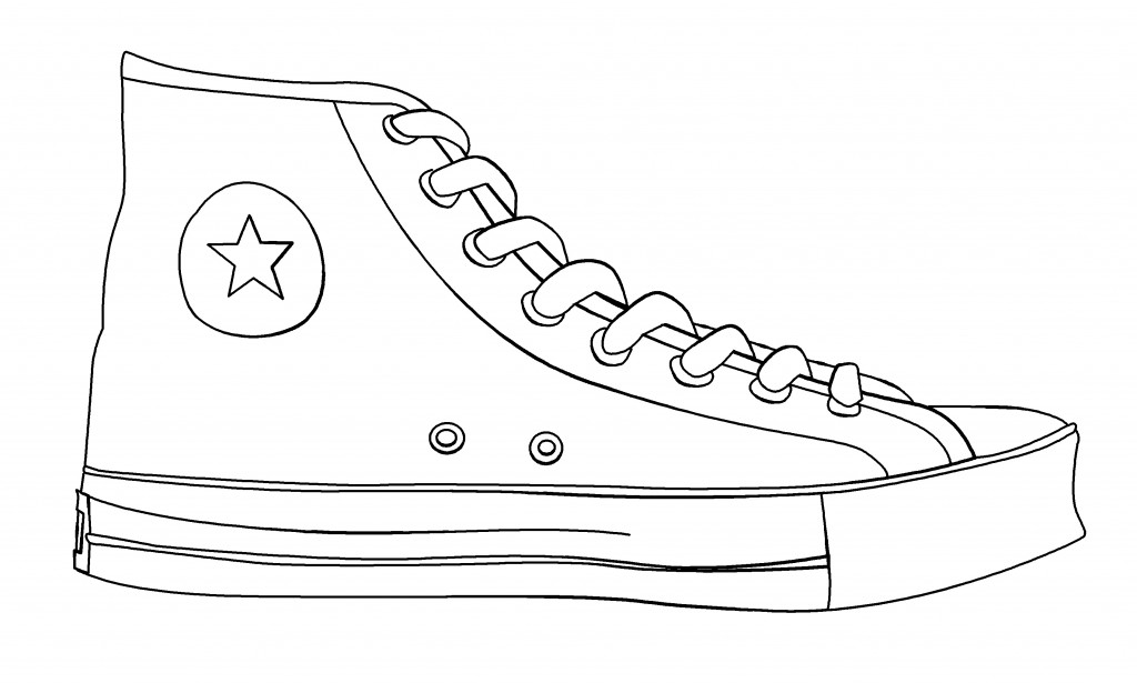 Free Shoe Outline Template, Download Free Clip Art, Free Clip Art on - blank outline template