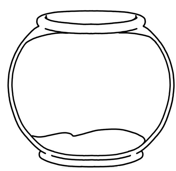 Free Printable Fish Bowl, Download Free Clip Art, Free Clip Art on