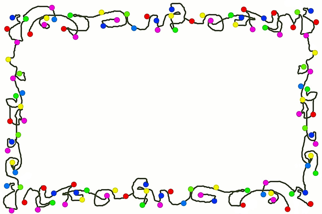 Christmas Clip Art Borders For Word Documents - Clip Art Library