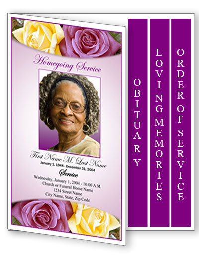 Free funeral program clipart - Clip Art Library - funeral program background