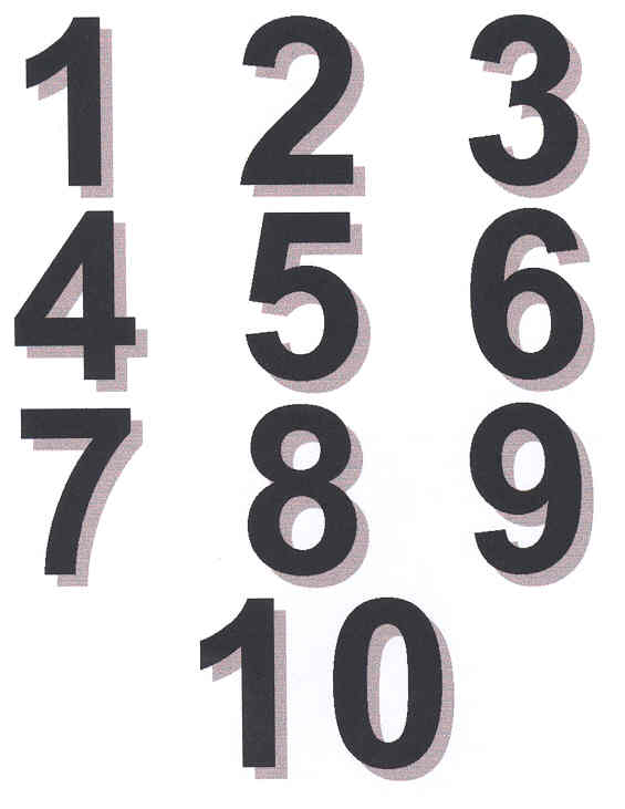 Free Numbers 1-10 Cliparts, Download Free Clip Art, Free Clip Art on