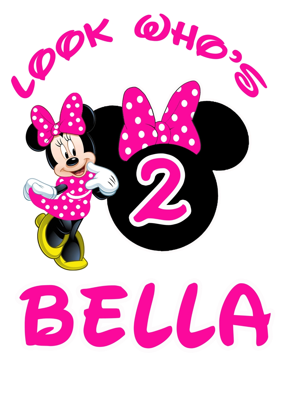 The Cheetah Girls As Wallpaper Minnie Mouse 2nd Birthday Clipart Clip Art Library