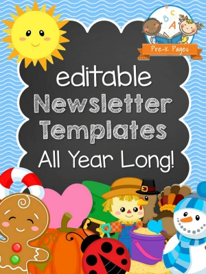 Kindergarten newsletter clipart - Clip Art Library - kindergarten newsletter template