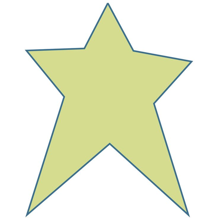 Free Printable Star Patterns - Clip Art Library