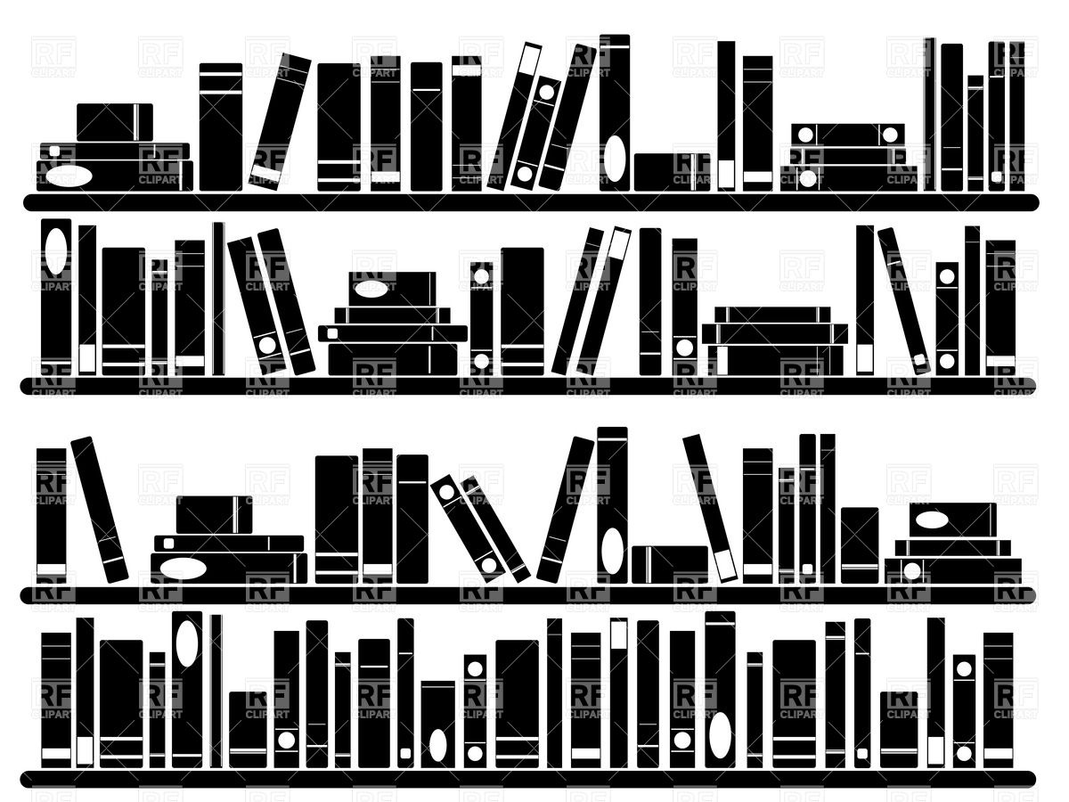 Row Of Books Vector Book