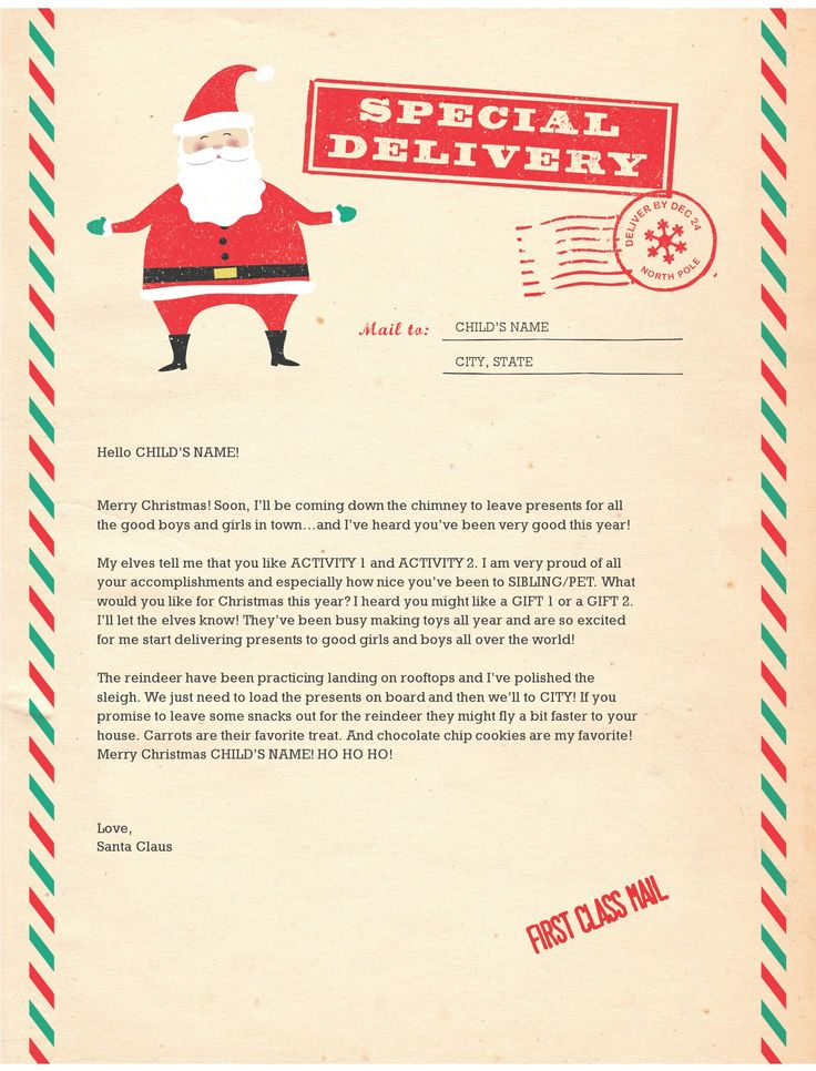 Free Santa Letter Cliparts, Download Free Clip Art, Free Clip Art on