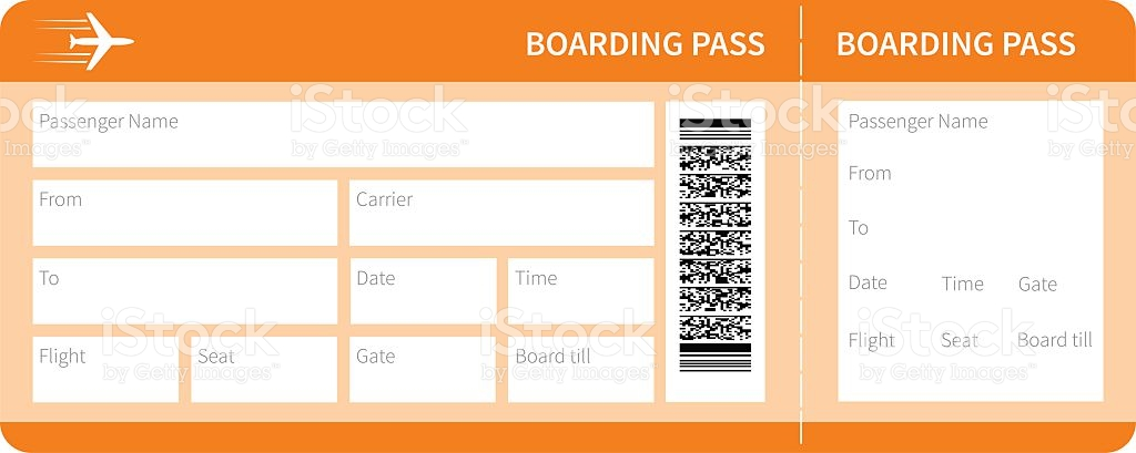 Boarding Pass Template Free Image collections - Template Design Ideas - boarding pass template