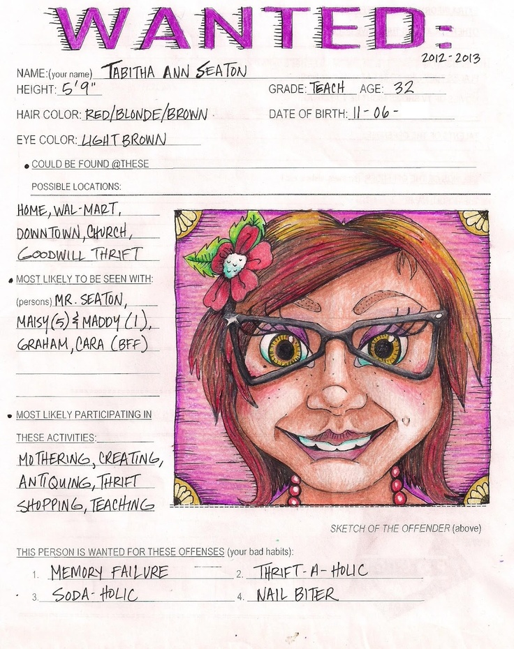 Cute face on wanted poster clipart - Clip Art Library
