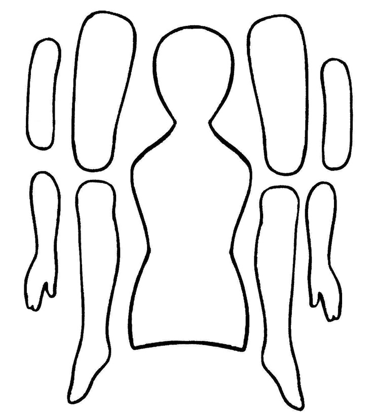 Paper Doll Template - Clip Art Library - paper doll template