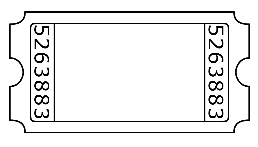 Free Blank Ticket Cliparts, Download Free Clip Art, Free Clip Art on