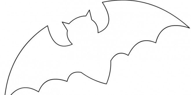 Bat Template - Clip Art Library - bat template
