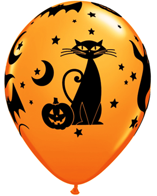 Birthday Balloons Transparent Background Free Halloween Balloons Cliparts, Download Free Clip Art