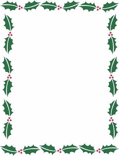 holiday border templates - Goalgoodwinmetals - paper border templates