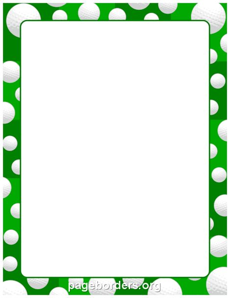 Free Golf Border Cliparts, Download Free Clip Art, Free Clip Art on