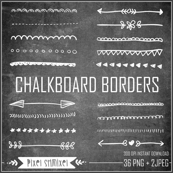 Free Chalkboard Border Cliparts, Download Free Clip Art, Free Clip