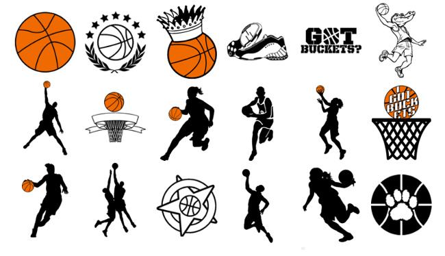 Basketball net vector clipart - Clip Art Library