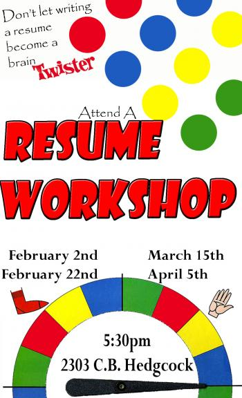 Resume Workshop Clipart - Clip Art Library