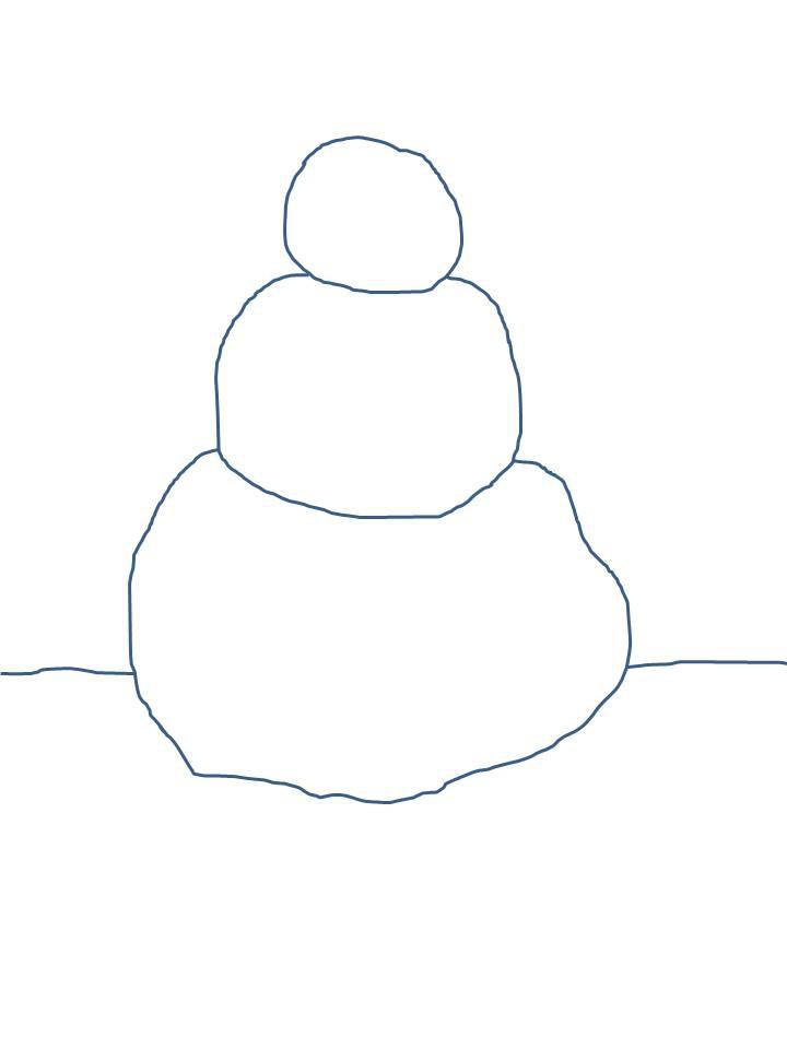 Snowman Template, Snowman Crafts - Clip Art Library - snowman template