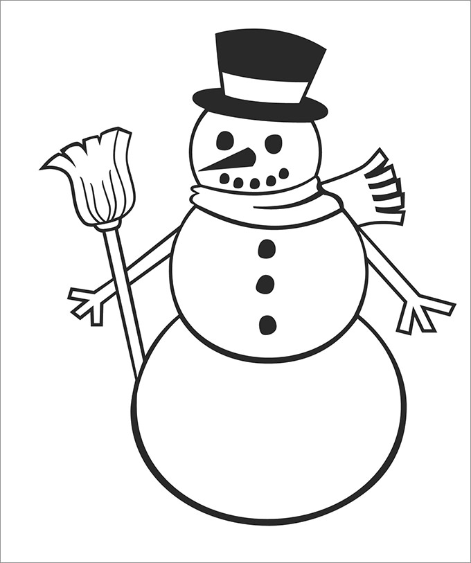 Free Blank Snowman Cliparts, Download Free Clip Art, Free Clip Art