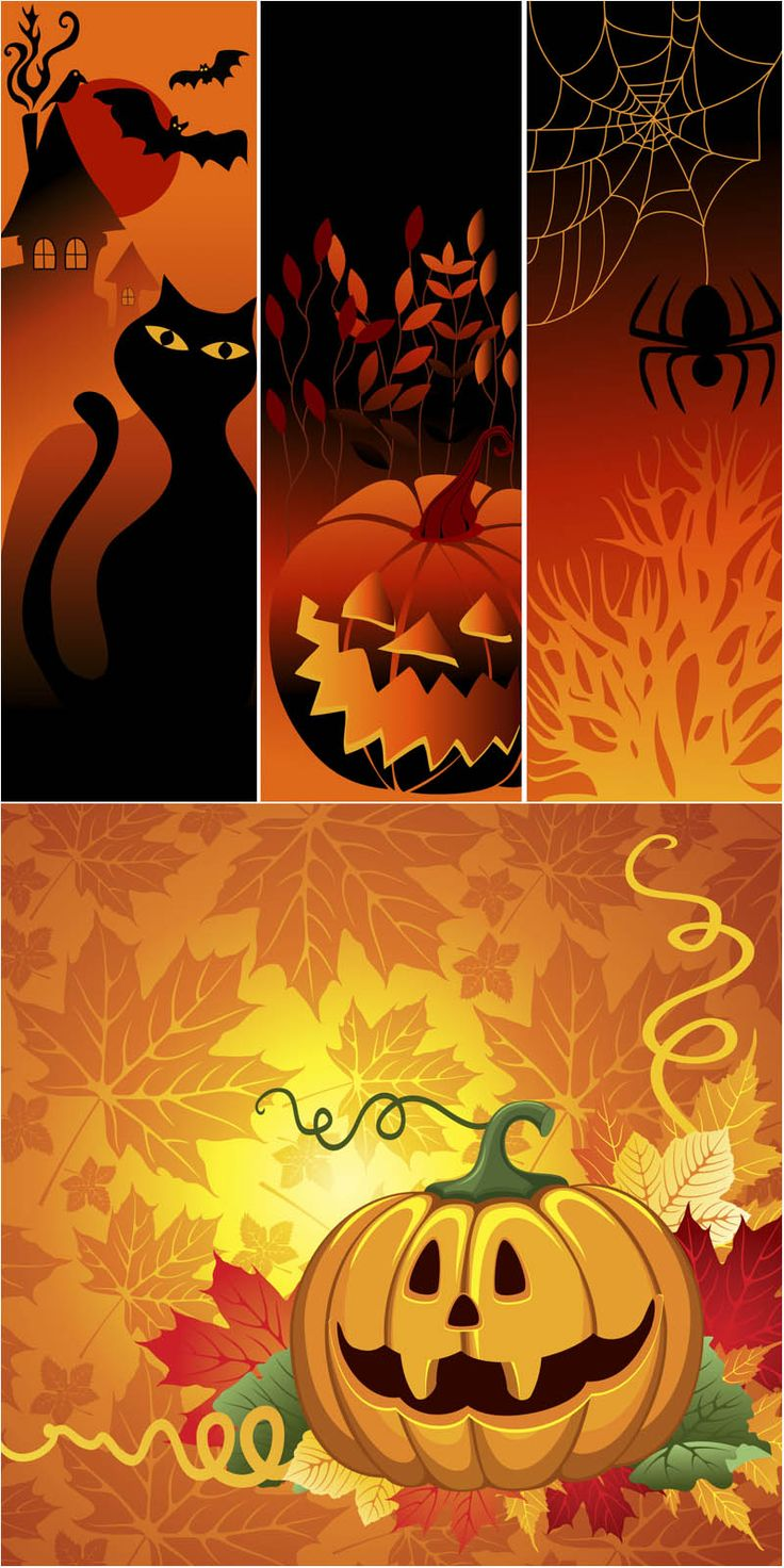 Fall Feather Wallpaper Free Vertical Halloween Cliparts Download Free Clip Art
