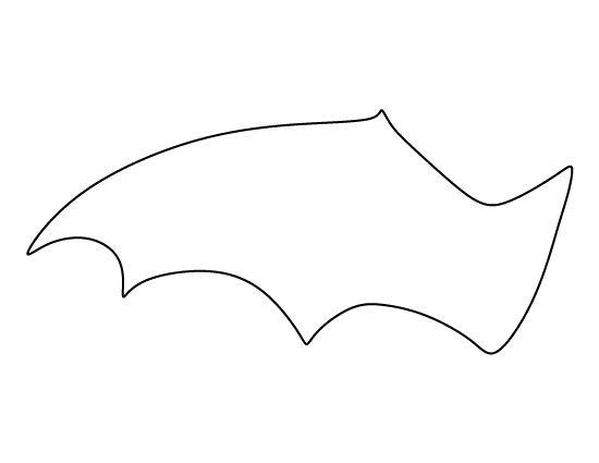 Bat Pattern Cliparts Free Download Clip Art Free Clip Art on - bat template