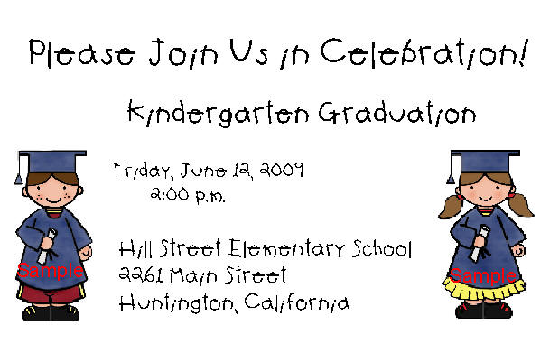 kindergarten graduation border - Josemulinohouse