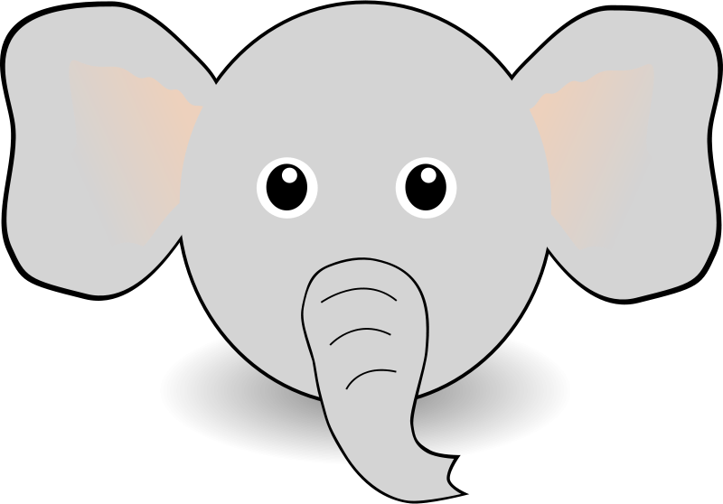 Elephant Templates Clipart Clipart Kid Giraffe Mask