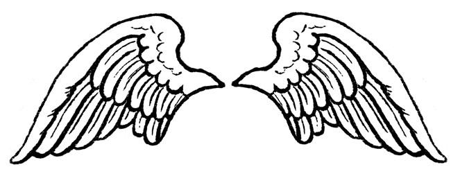 printable angel patterns