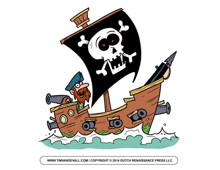 Free Pirate Ship Clip Art, Download Free Clip Art, Free Clip Art on