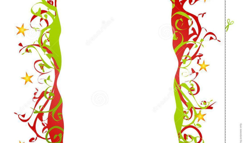 Christmas Clipart Borders Free For Mac Clip Art Library - Clip Art