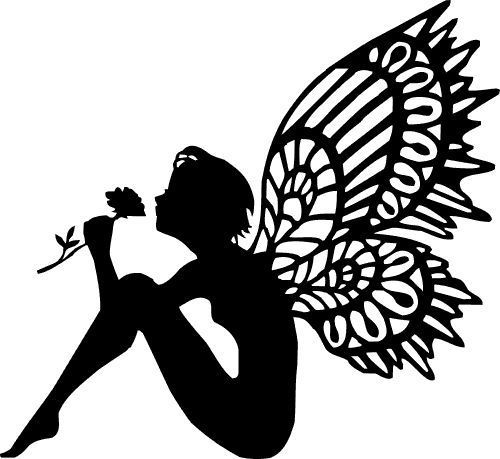 Collection Of Fairy Silhouette Svg Download Them And Try To