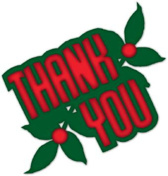 Holiday Thank You Clip Art Free Clipart Images 4