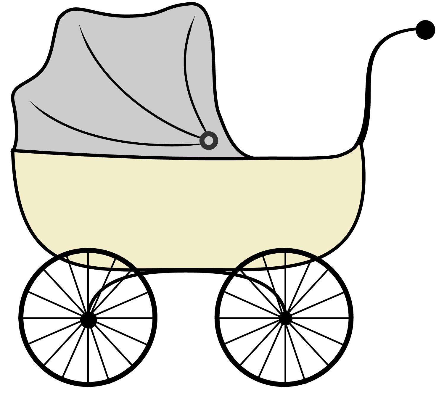 Baby Stroller Clipart Black And White Baby Shower Printables Vintage Stroller Clipart Clipart