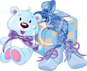 Baby Boy Baby Shower Clip Art Free