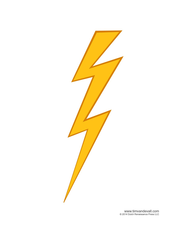 Lightning bolt clip art at clker vector clipartix