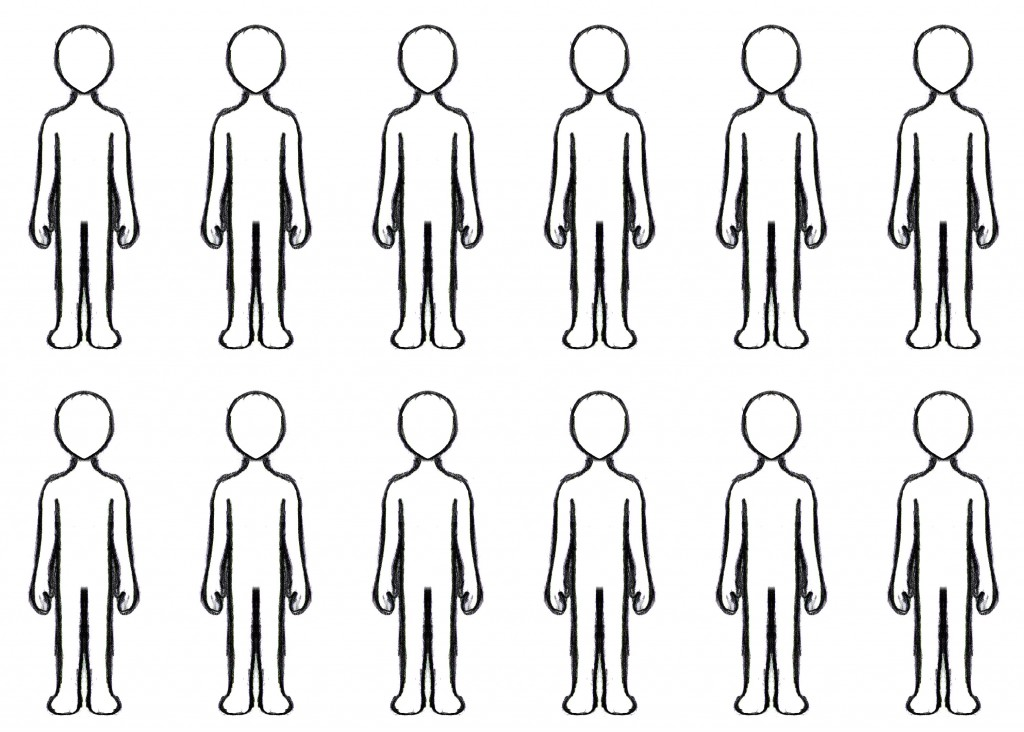 Person outline blank person template free download clip art 11