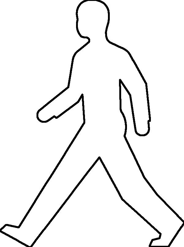 Person outline blank person template free download clip art 2
