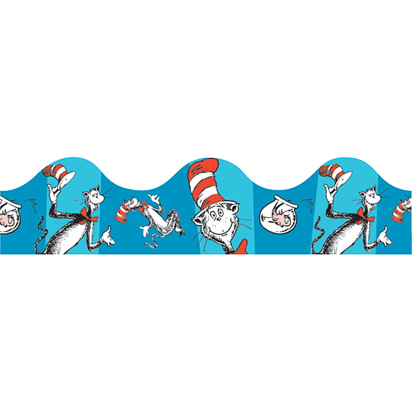 Dr Seuss Border - Clipartion