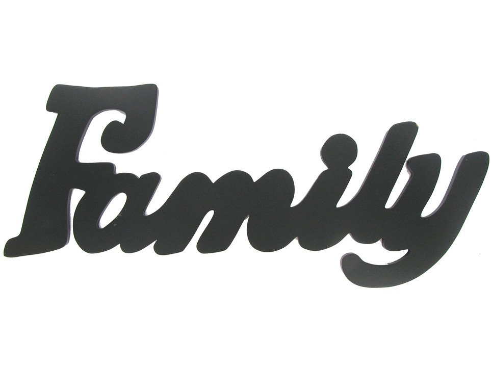 Best Family Word Clipart #28467 - Clipartion