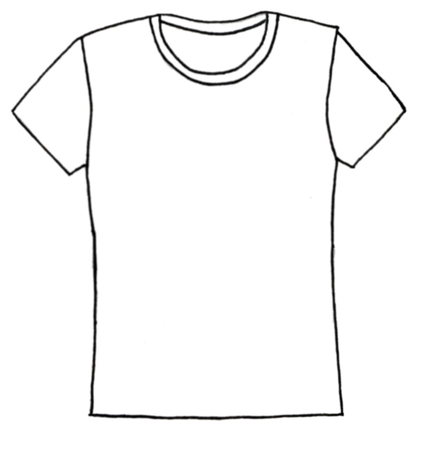 Shirt shirt templates on blank shirts templates and clipart