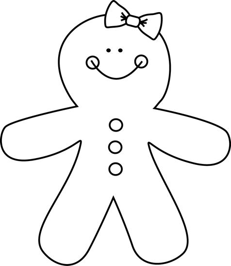 Graphics For Gingerbread Man Outline Graphics wwwgraphicsbuzz - gingerbread man template