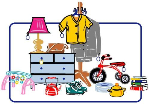 Yard sale flyers clipart clipart kid - Clipartix