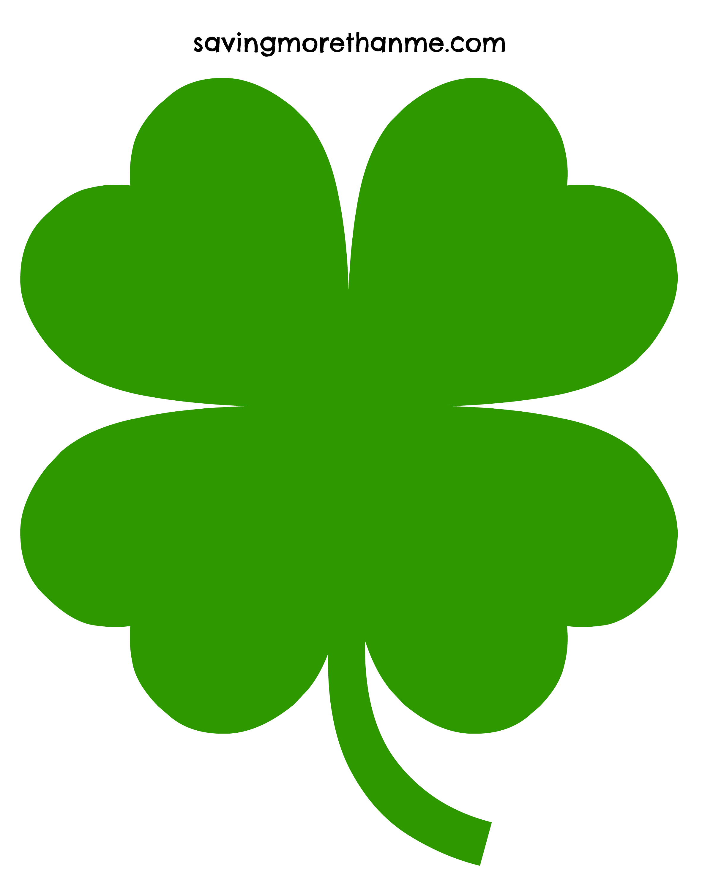 Coloring pages 4 leaf clover - Coloring Page 3 Leaf Clover 4 Leaf Clover Four Leaf Clover Clipart China Cps Clipartix Download