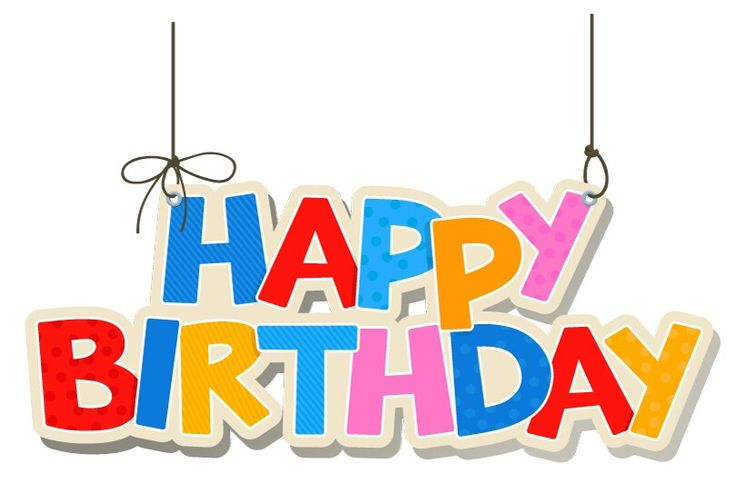 Happy birthday birthday poster cliparts free download clip art