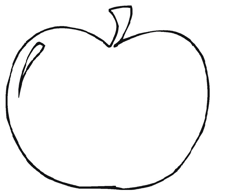 Apple Clipart Black And White Free Free download best Apple