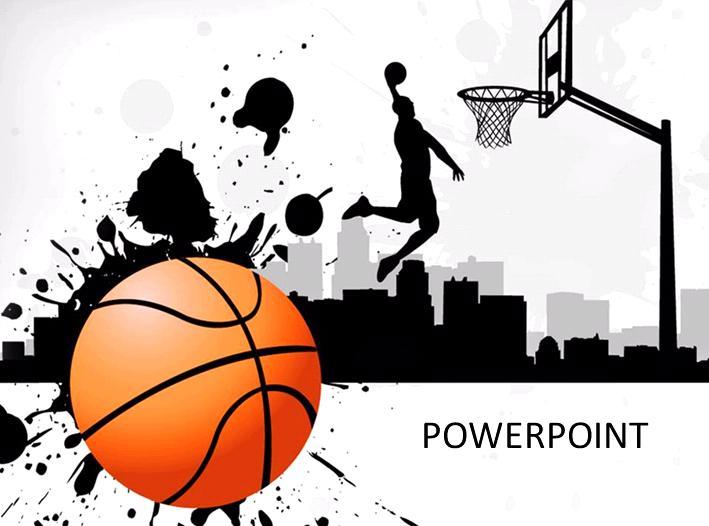 Basketball Border Templates Free download best Basketball Border