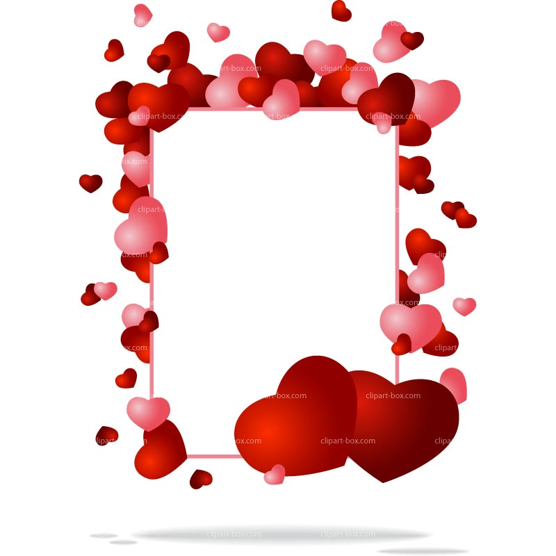 Big Heart Images Clipart Free Download Best Big Heart - Heart Frames For Photos